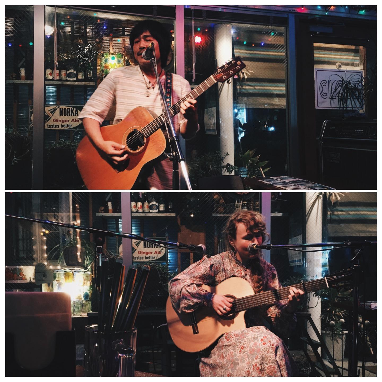 声とギターからのトランス / 2016年5月16日Lizabett Russo、トミー来風@エスケリータ68
