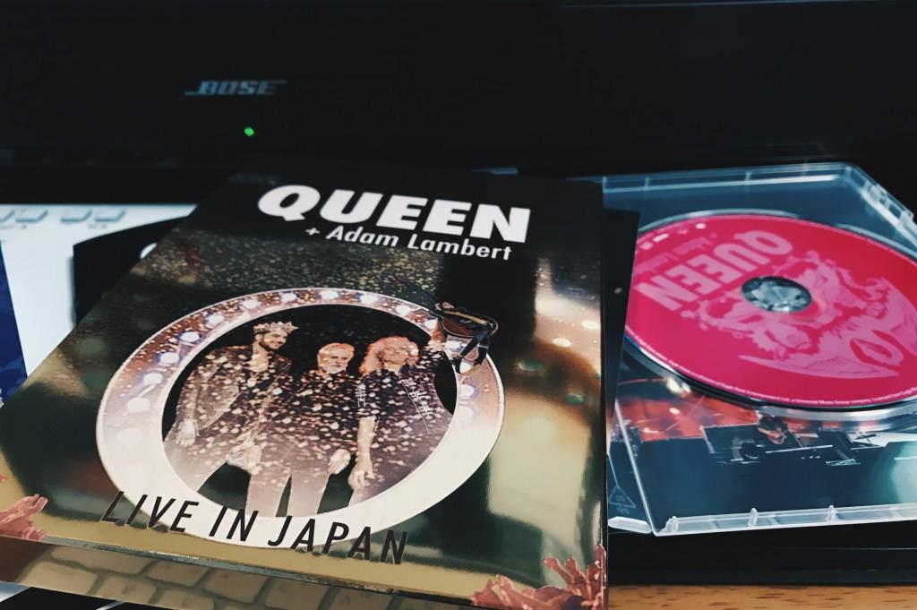 クイーン+アダムランバート DVD